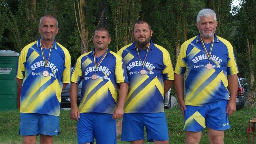 Médaille de bronze pour Carles.