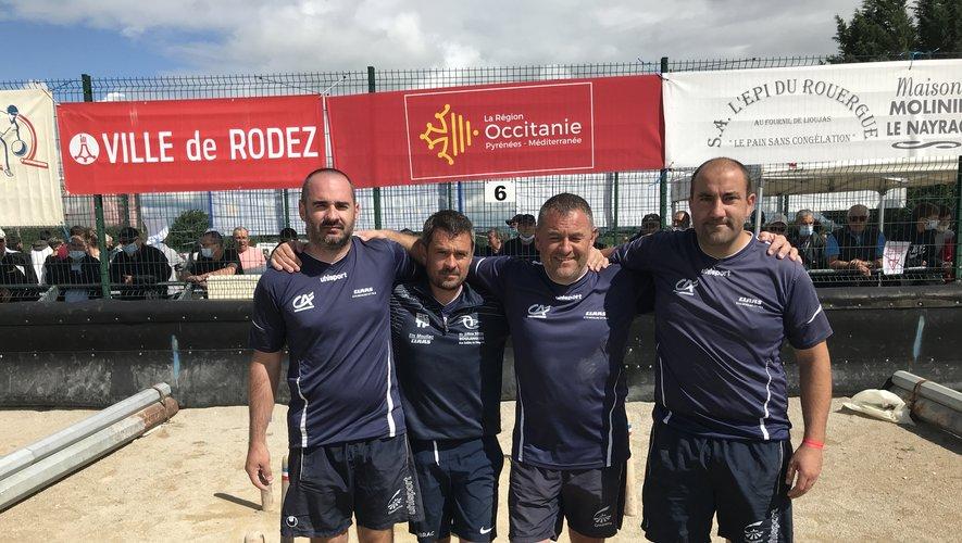 L'équipe Marcillac ramène un premier titre à Sainte-Geneviève-sur-Argence.