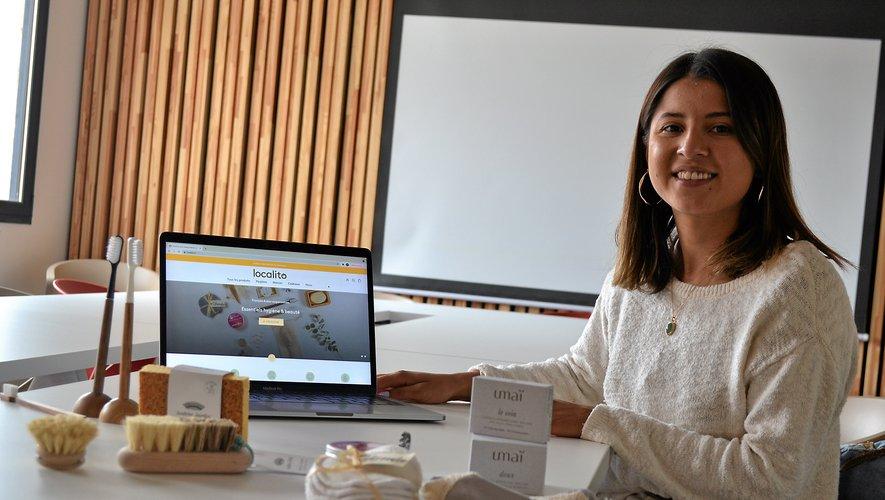 Camille Malassenet s'est lancée avec Localito le 15 avril 2021. Le jour où elle a soufflé ses 25 bougies. Elle travaille avec huit producteurs partenaires et fréquente régulièrement la Maison de l'économie de Rodez Agglomération.Lisa Puechagut