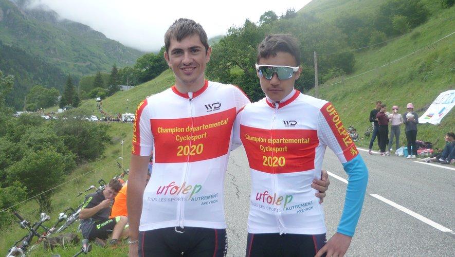 Loïc Mazars et Gabriel Layrac.