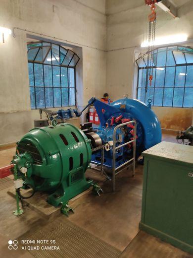 L'usine hydroélectrique est à découvrir les 3 et 17 août.