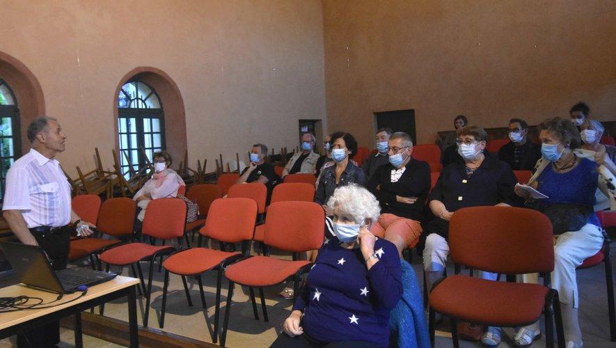 Une conférence de Louis Mercadié.