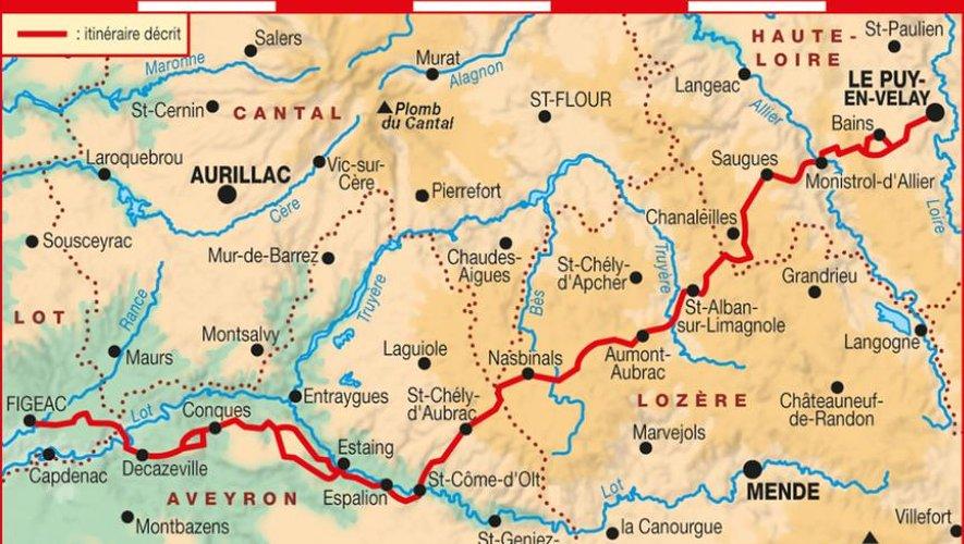 D'Estaing à Golinhac, le pèlerin à l'épreuve du GR65