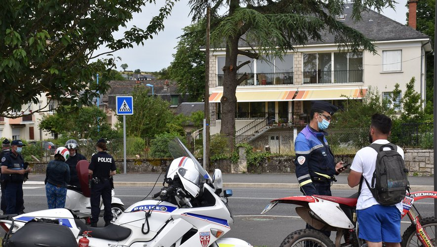 L'opération a été organisée à Rodez et à Onet-le-Château.