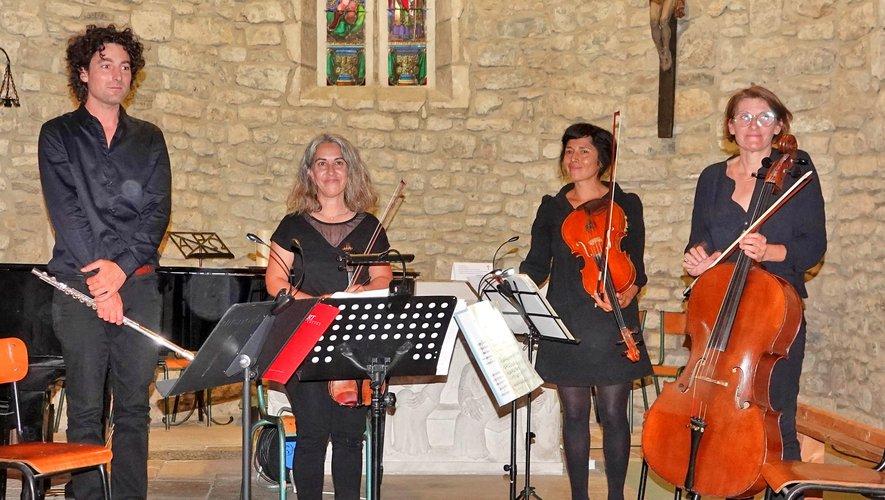 Ouest Aveyronnais, ces quatre artistes ont un réel talent et un bel avenir.