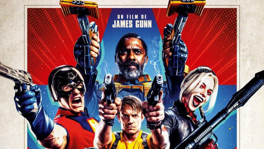 """Au cinéma depuis le 28 juillet en France, """"The Suicide Squad"""" sort le 5 août aux Etats-Unis."""