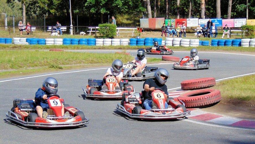 Le plein  de sensations au karting