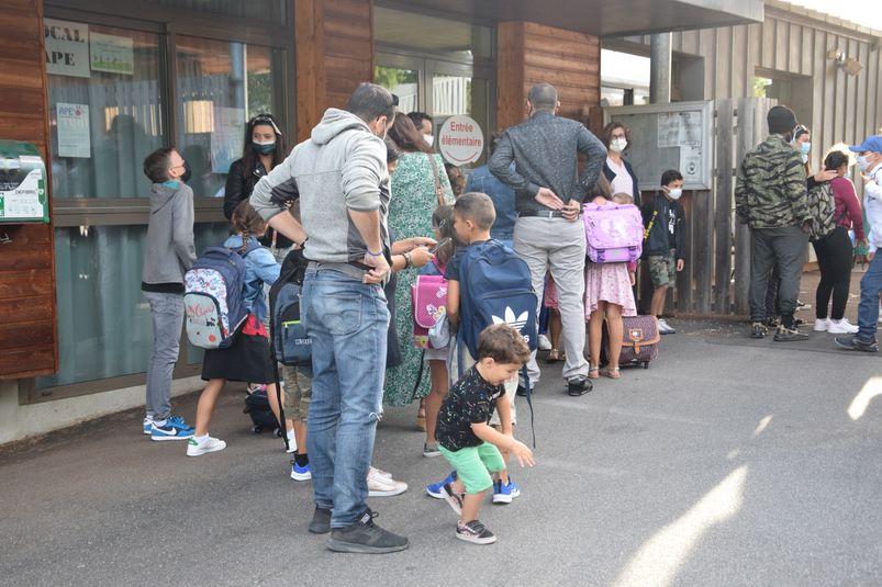 """L'école Jean-Albert Bessière, à Saint-Félix, compte toujours sept classes dites """"ordinaires"""" et une classe d'unité d'enseignement maternel """"autisme"""" avec un total de 126 élèves."""