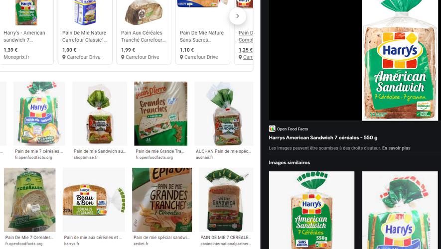 Un très léger arôme de pesticide dans la plupart des pains industriels testés.