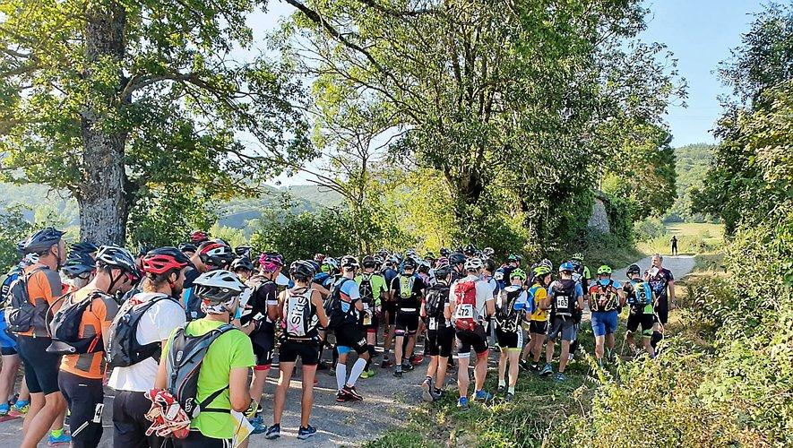 Le départ du raid est matinal, ce premier samedi de septembre. Ce week-end, plus de 250 amateurs de sport nature seront sur le pont.