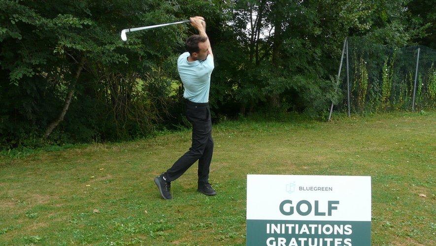 Guillaume fait découvrir le golf