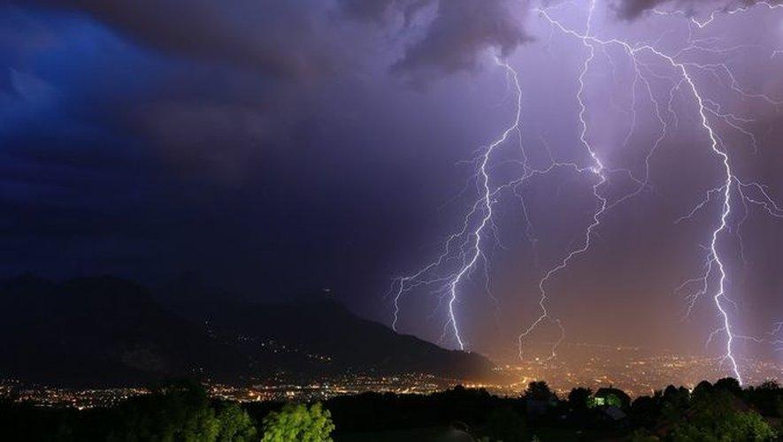 Des pluies et des orages potentiellement violents.