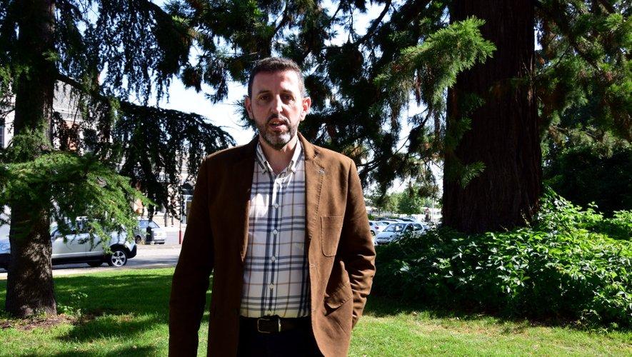 Nicolas Sènes, nouveau directeur diocésain de l'enseignement catholique en Aveyron et dans le Lot.