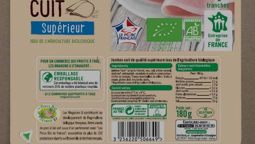 Le produit est commercialisé depuis le 25 août dans tous les magasins du réseau Système U de France.