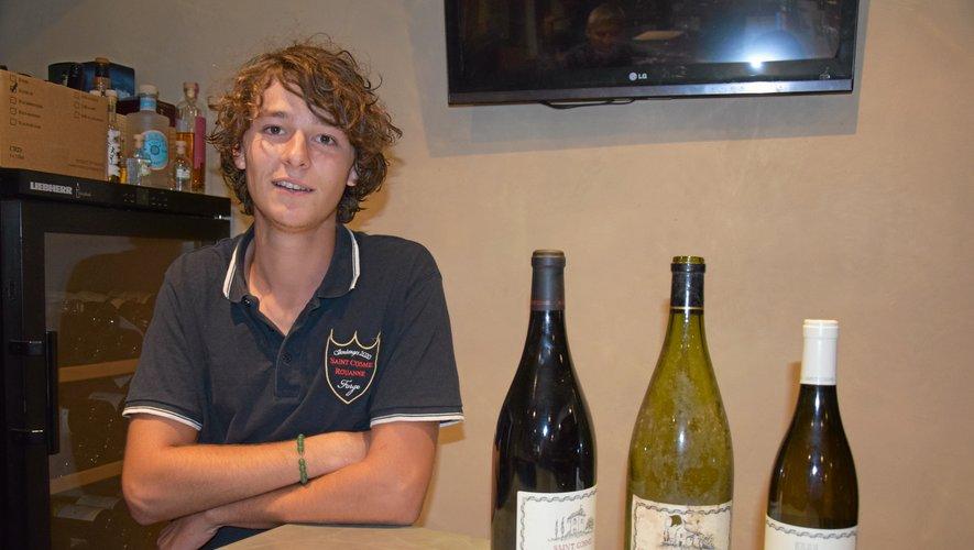 """Après deux ans de BTS """"viticulture et œnologie"""" en alternance à Gigondas et à Orange, Mathis Ayral intègre l'école d'ingénieur de Purpan à Toulouse."""