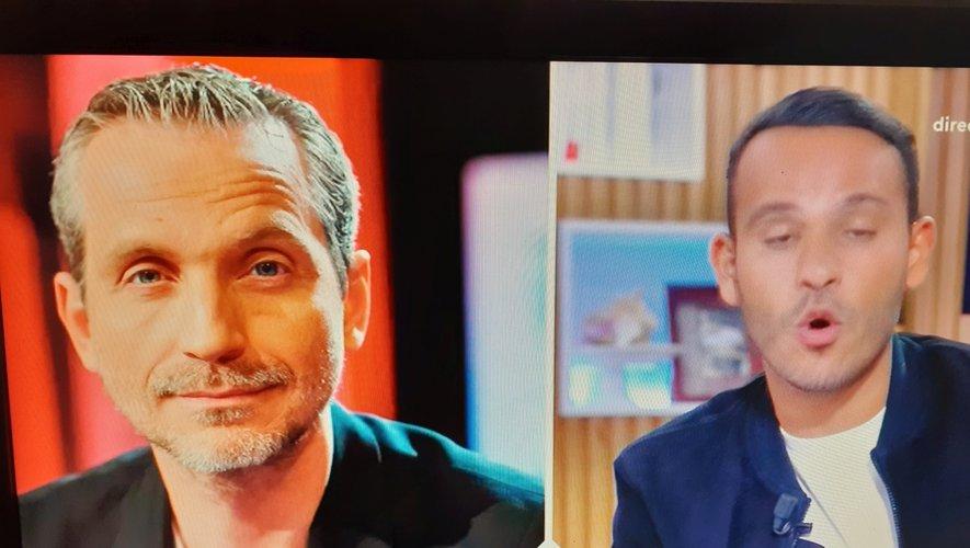 """Olivier Norek """"Roi du polar français"""", dixit Mohamed Bouhasfi, lors de sa chronique dans l'émission """"C à Vous"""" sur France5, ce mardi."""