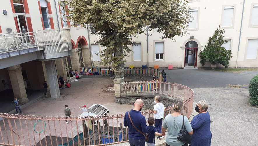 A Decazeville trois classes ont été fermées dont la classe maternelle et CP de l'institution Sainte-Foy.