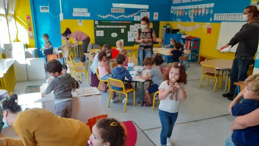 Au groupe scolaire Prosper Alfaric dirigé par Katia Murat, 107 élèves sont répartis en cinq classes.