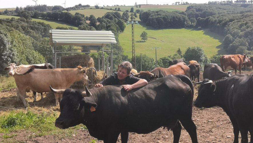 Au Mas d'hérens, la femme qui murmure à l'oreille de ses vaches
