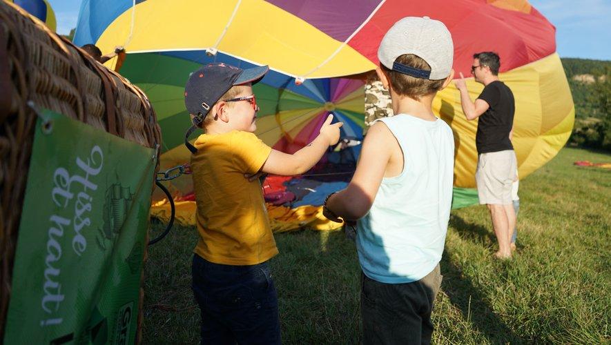 Les montgolfières  ont pris la Commanderie d'assaut
