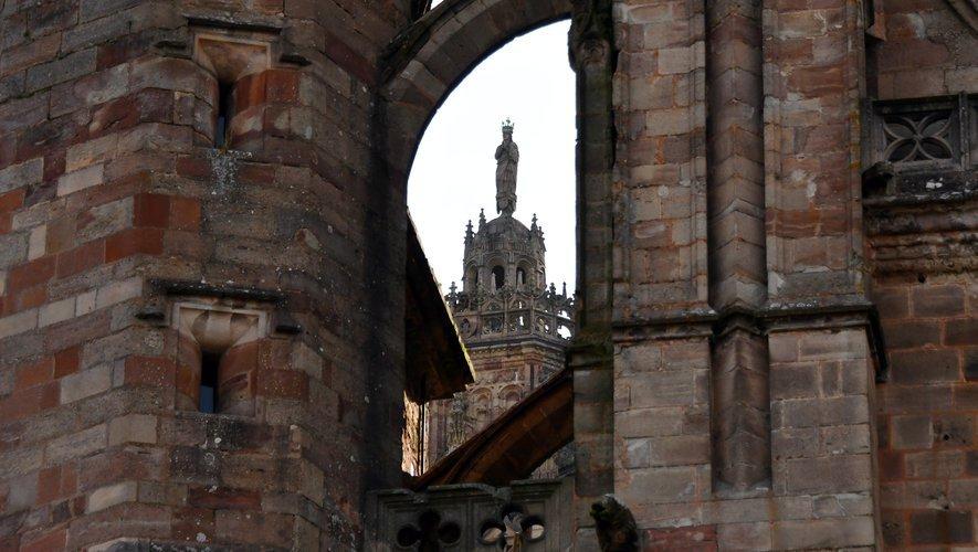 La cathédrale de Rodez, un emblème régional sur Instagram.