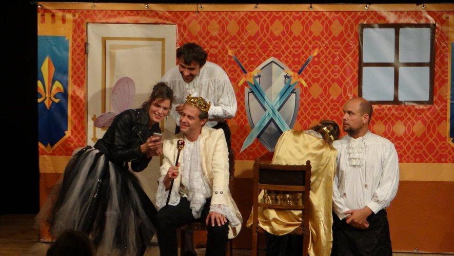 """La pièce de Gilles Perrault, """"Riquet à la Houppe"""",sera présentée samedi, à 20 h 30, à la salle des fêtes."""