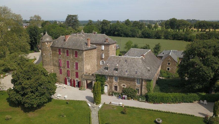 Le château du Bosc à Camjac, estimé à plus d'un million d'euros.