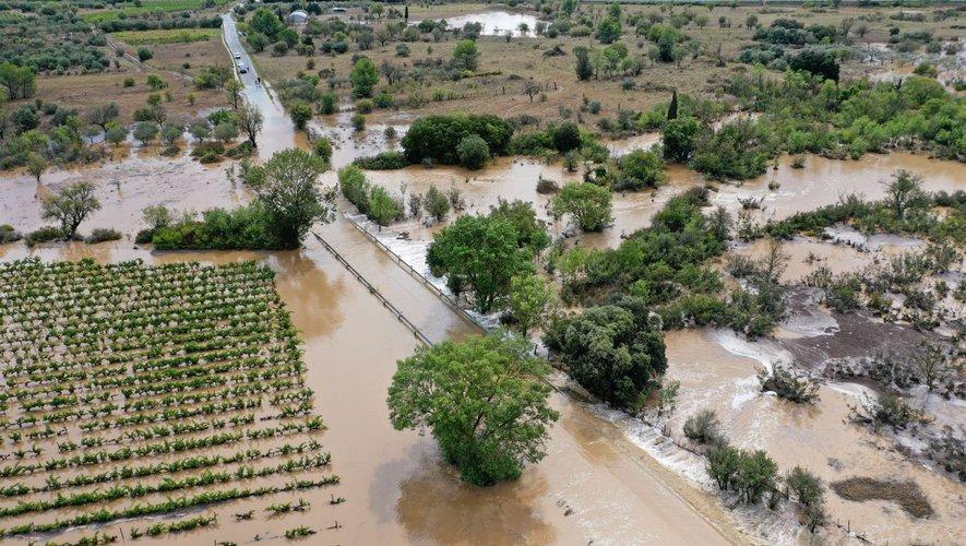 Des inondations un peu partout dans le Gard.