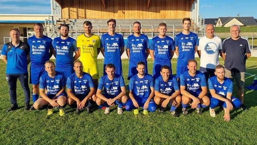 Les Senior foot 1 ont remporté le match face à Larzac Vallée par 4/0.