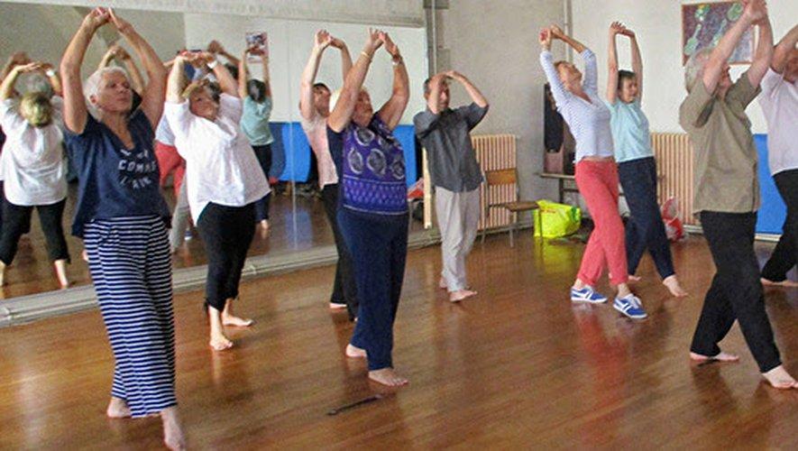 L'association pratique du qi gong et du tai chi chuan./ Photo DR