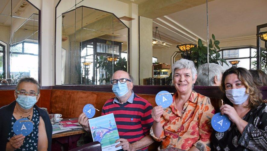 Les responsables de l'association France Alzheimer Aveyron organise la journée du 21 septembre, au jardin public de Rodez.