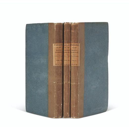 """Une édition originale de """"Frankenstein"""" de Mary Shelley a explosé les estimations de Christie's le 14 septembre dernier."""