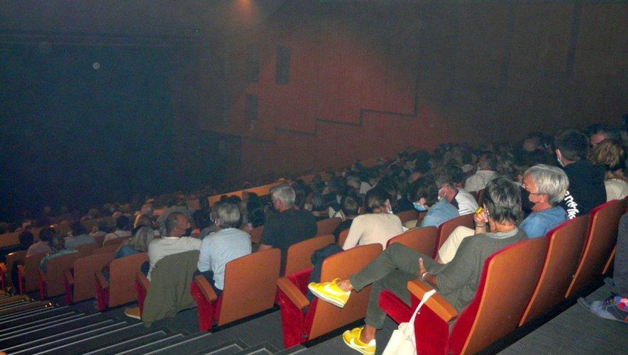 Plus de 300 personnes  ont assisté à cette soirée.