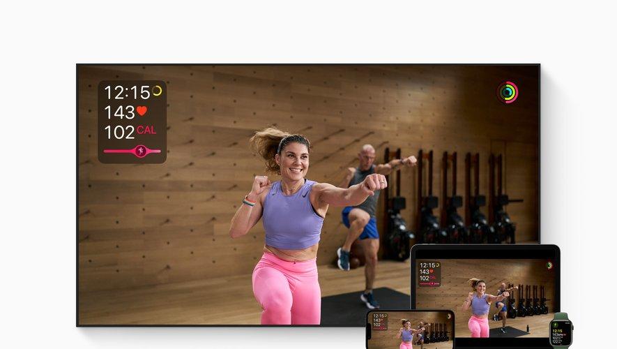 Apple Fitness+ sera disponible en France le lundi 27 septembre.