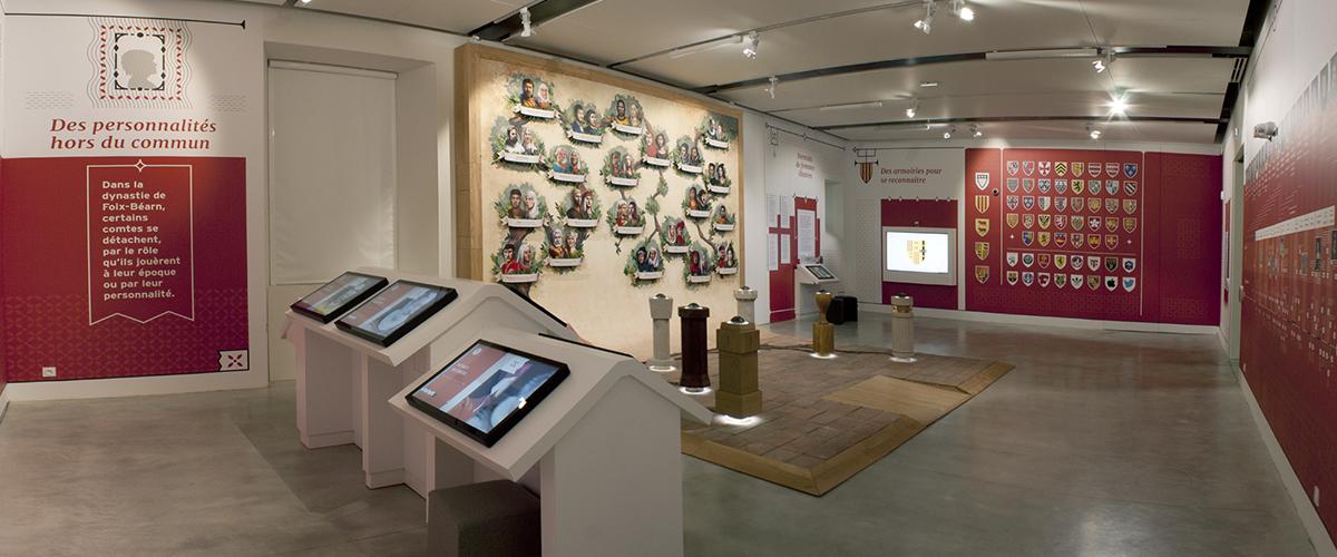Espace muséographique du château de Foix