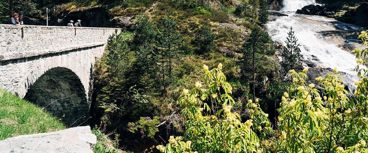 Cauterets Pont d'Espagne – sentier des cascades