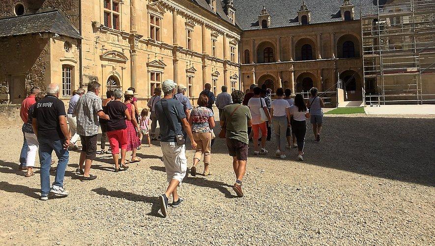 Le château de Bournazel, un classique du patrimoine.