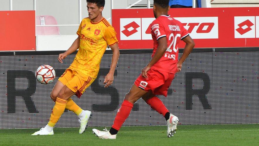 Avec quatre buts, Lucas Buadès est le meilleur buteur du Raf.