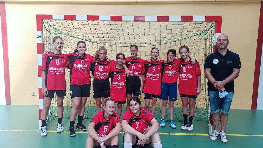 La jeunesse, un atout primordial pour le club (photo 15 ans filles).