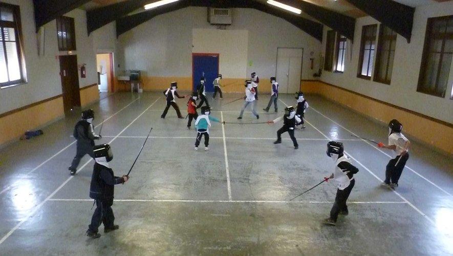 Escrime ou rollers, les écoliers du Lévézou seront nombreux dès la reprise des écoles multisports.