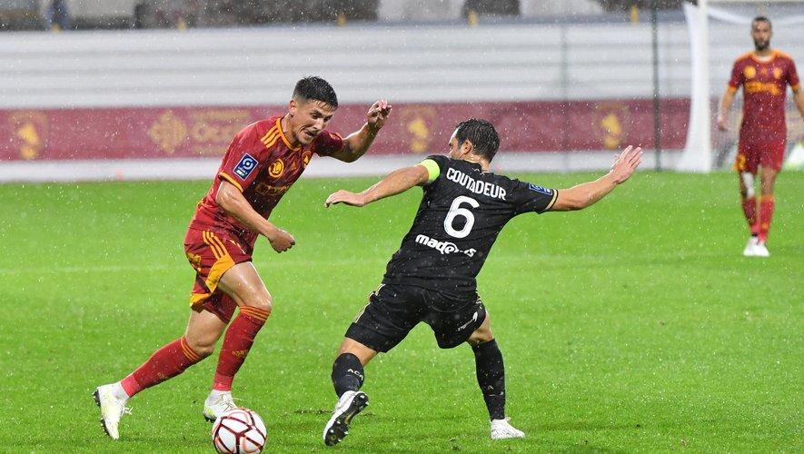 A la mi-temps, les Ruthénois étaient menés 1-0 par Ajaccio.