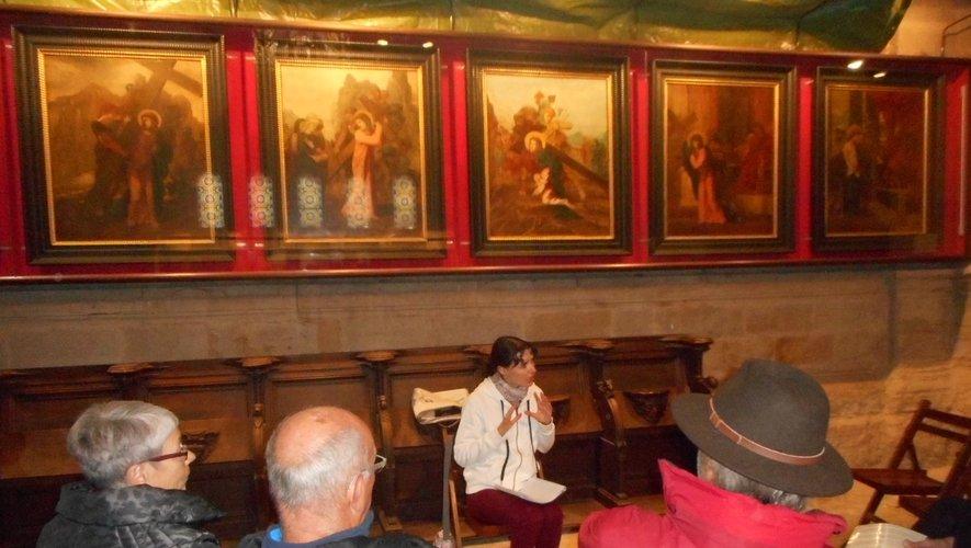 Découvrez les 14 tableaux du chemin de Croix de Gustave Moreau.