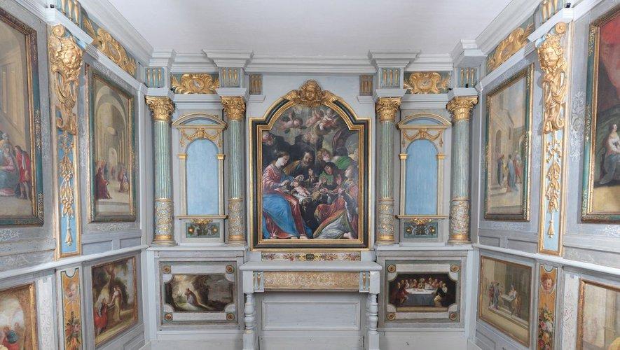 La chapelle sera ouverte à de petits groupes dans le cadre de visites à thèmes.