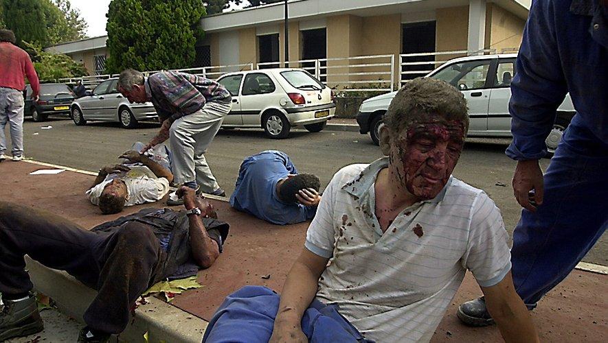 La terrible explosion a fait des milliers de blessés autour du site.