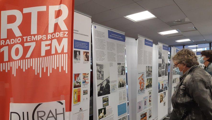 Une exposition créée par la Dilrah de Nîmes et présentée par RTR.