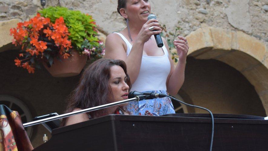 Marie Sagnier en duo avec Nathalie Elbé