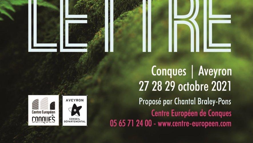 Les participants donneront une lecture publique de leurs textes, à l'issue de leur stage du 27 au 29 septembre.