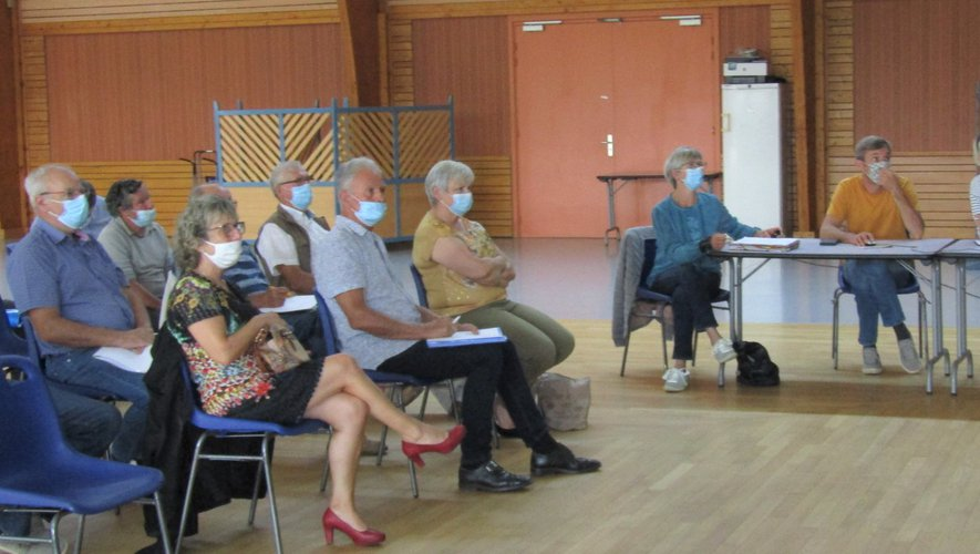 Les responsables ont détaillé les activités du conservatoire de la châtaigne.