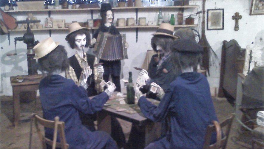 À La Palairie, la scène du jeu de cartes de Pagnol a été réinventée... sur un air d'accordéon.