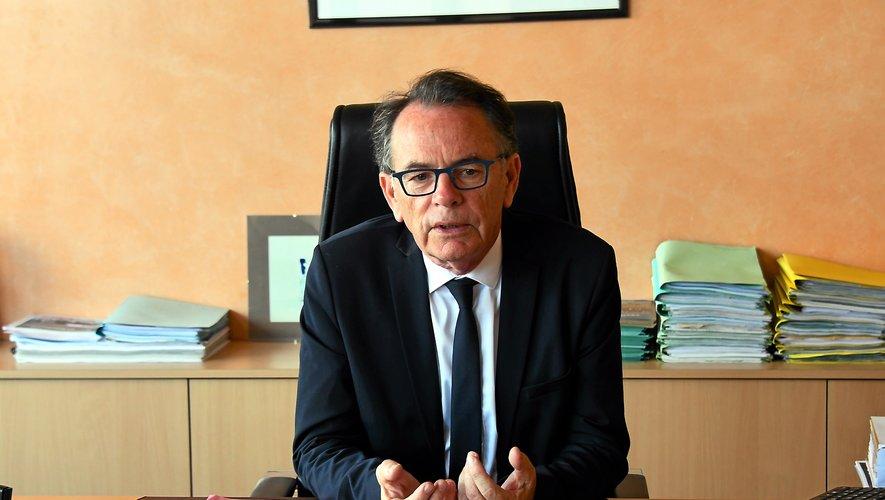 """Pour le maire de Rodez Christian Teyssèdre, le haras est """"un espace exceptionnel""""."""